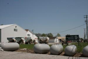 Farm supply business exterior
